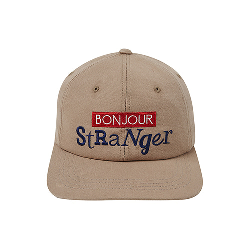 [COLLECTION LINE]BONJOUR BALL-CAP BEIGE