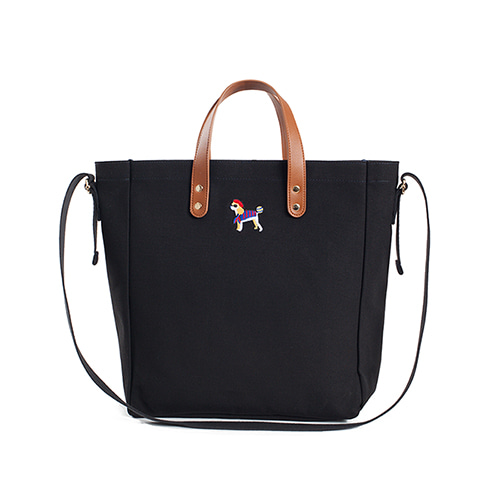 [COLLECTION LINE]BONJOUR BASIC TOTE BAG BLACK