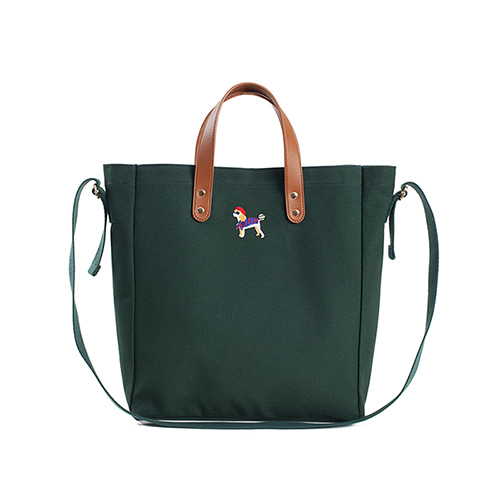 [COLLECTION LINE]BONJOUR BASIC TOTE BAG GREEN
