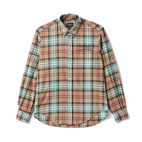 [COLLECTION LINE]ARCHIVE CHECK SHIRT MINT