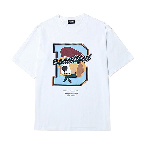 [COLLECTION LINE]B FINALE 1/2 T-SHIRTS WHITE