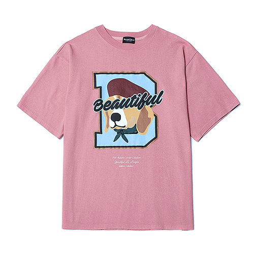[COLLECTION LINE]B FINALE 1/2 T-SHIRTS PINK