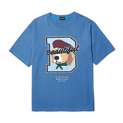 [COLLECTION LINE]B FINALE 1/2 T-SHIRTS BLUE