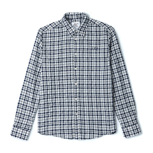 ILP CHECK SHIRTS NAVY
