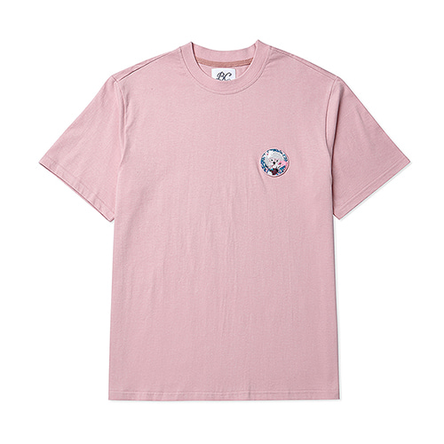 COCONUT DOG WAPPEN 1/2 T-SHIRTS PINK