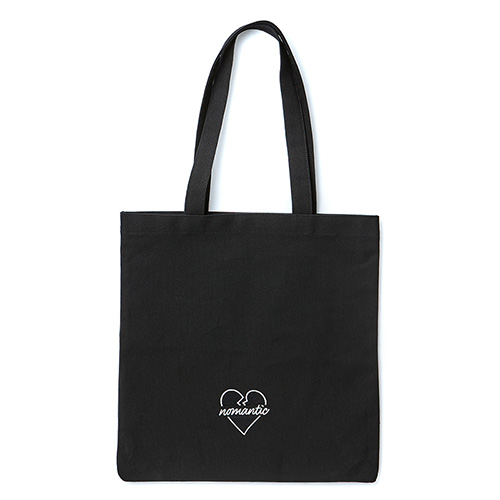 [BLACK EDITION]NOMANTIC LOGO ECO BAG BLACK