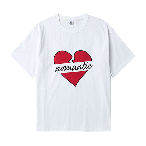 BASIC NOMANTIC 1/2 T-SHIRT SUMMER VER. WHITE