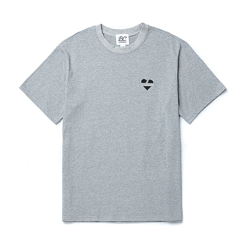 NOMANTIC LOGO BASIC 1/2 T-SHIRTS GRAY