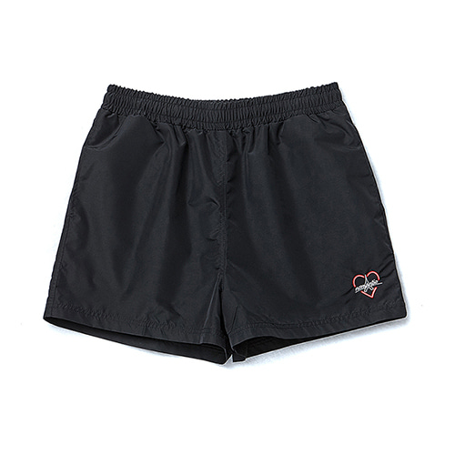BONJOUR NOMANTIC LOGO SWIM PANTS BLACK