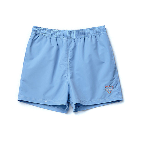 BONJOUR NOMANTIC LOGO SWIM PANTS BLUE