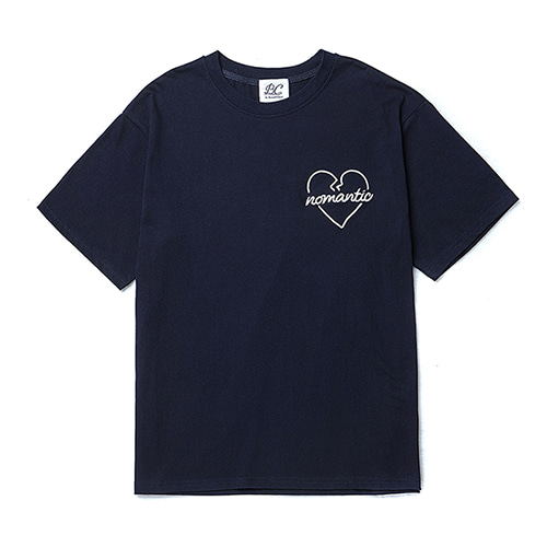 ROPE NOMANTIC 1/2 T-SHIRTS NAVY
