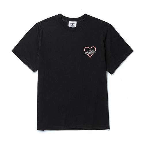 BONJOUR NOMANTIC 1/2 T-SHIRT BLACK