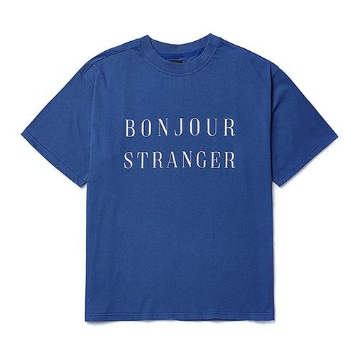 [COLLECTION LINE]BASIC LOGO 1/2 T-SHIRTS BLUE