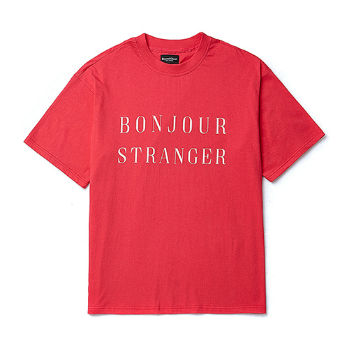 [COLLECTION LINE]BASIC LOGO 1/2 T-SHIRTS RED
