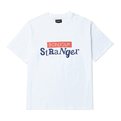 [COLLECTION LINE]BIG LOGO 1/2 T-SHIRT WHITE