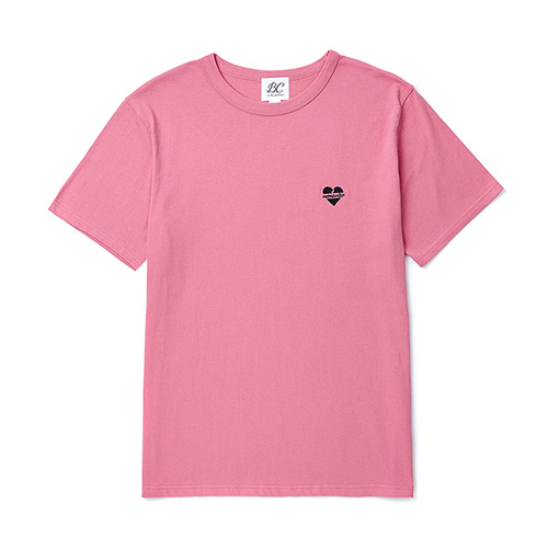 [BLACK EDITION]NOMANTIC LOGO BASIC 1/2 T-SHIRTS PINK