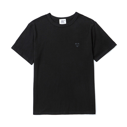 [BLACK EDITION]NOMANTIC LOGO BASIC 1/2 T-SHIRTS BLACK