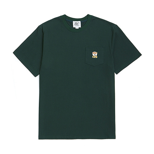 ILP LOGO POCKET 1/2 T-SHIRTS GREEN