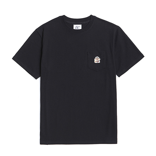 [WORLD CUP EDITION]ILP POCKET 1/2 T-SHIRTS BLACK