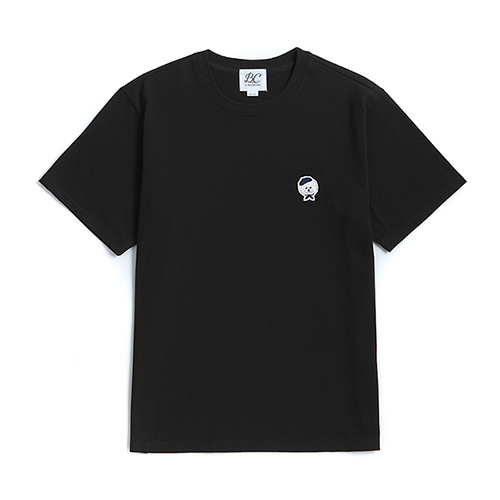 ILP SIGNATURE LOGO 1/2 T-SHIRTS BLACK