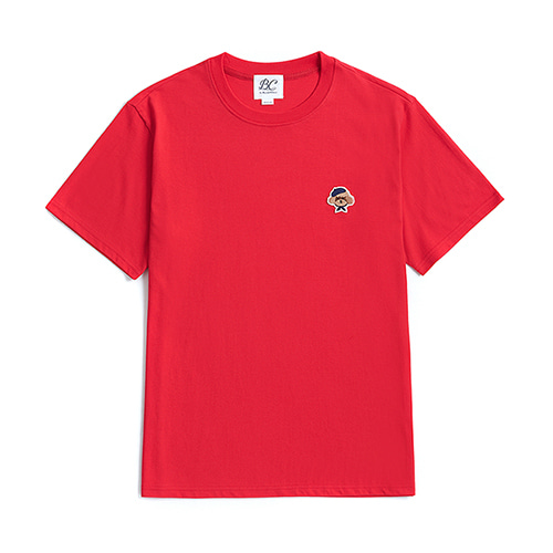 ILP SIGNATURE LOGO 1/2 T-SHIRTS RED
