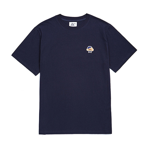 ILP SIGNATURE LOGO 1/2 T-SHIRTS NAVY