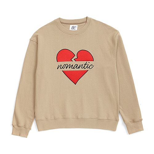 NOMANTIC B-LOGO SWEAT-SHIRTS BEIGE