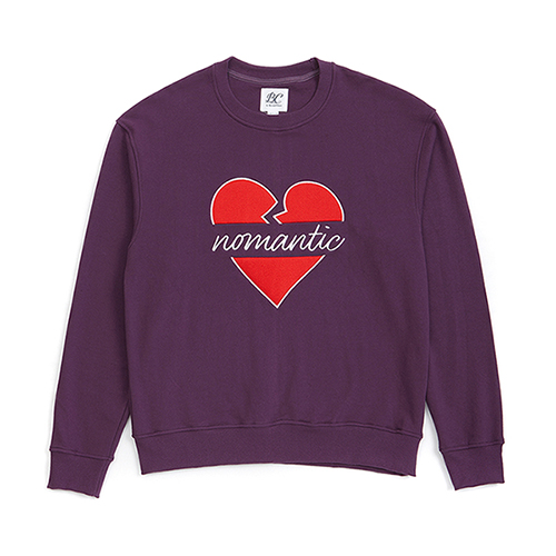 NOMANTIC B-LOGO SWEAT-SHIRTS PURPLE