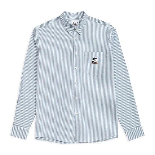 ILP LOGO OXFORD SHIRTS BLUE
