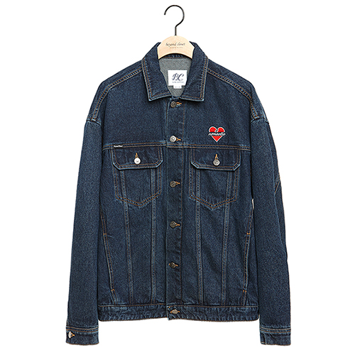 NOMANTIC LOGO DENIM JK BLUE