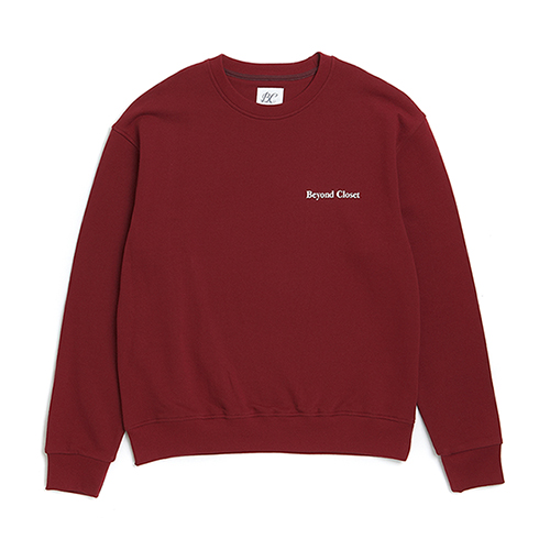 10 ANNIVERSARY LOGO SWEAT-SHIRTS BURGUNDY