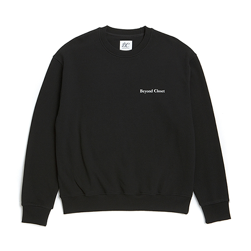 10 ANNIVERSARY LOGO SWEAT-SHIRTS BLACK