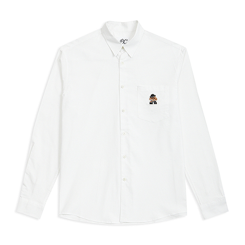 ILP LOGO OXFORD SHIRTS WHITE