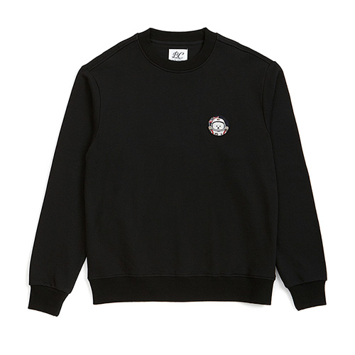 [RE-EDITION]APOLLO DOG WAPPEN SWEAT-SHIRTS BLACK