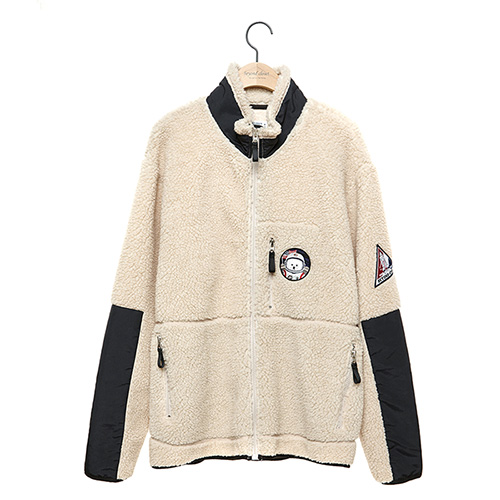 [RE-EDITION]APOLLO F-FUR ZIP-UP BLOUSON BEIGE