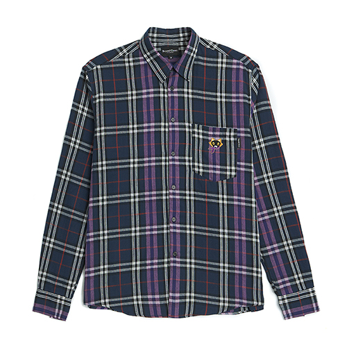 [COLLECTION LINE]NEO-CLASSIC CHECK SHIRTS NAVY