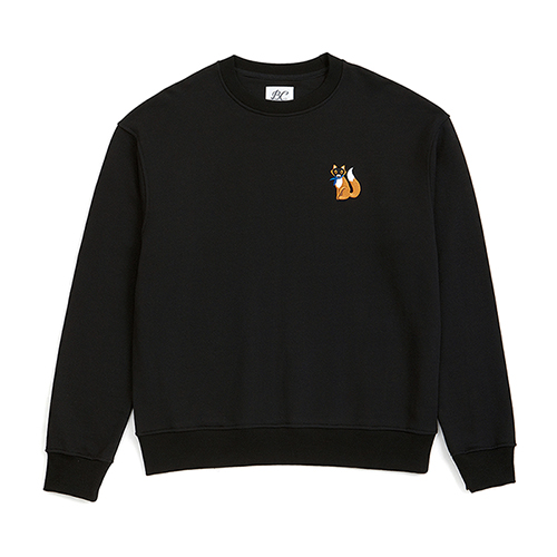 [COLLECTION LINE]BEAUTIFUL LOGO SWEAT-SHIRTS BLACK