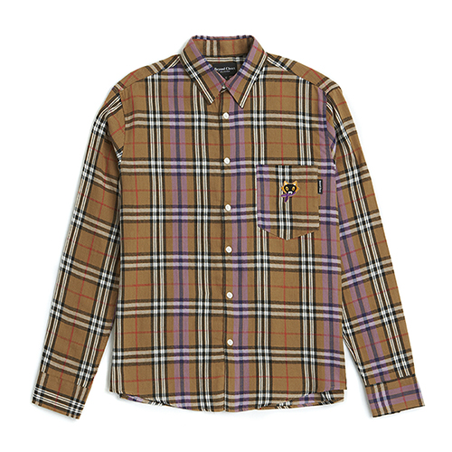 [COLLECTION LINE]NEO-CLASSIC CHECK SHIRTS BEIGE