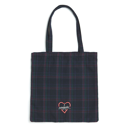 [PARIS EDITION]CHECK TOTE BAG NAVY
