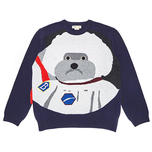 [RE-EDITION]APOLLO DOG KNIT NAVY