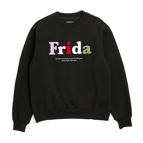 ILP FRIDA TEXT ARCHIVE SWEAT-SHIRTS BLACK