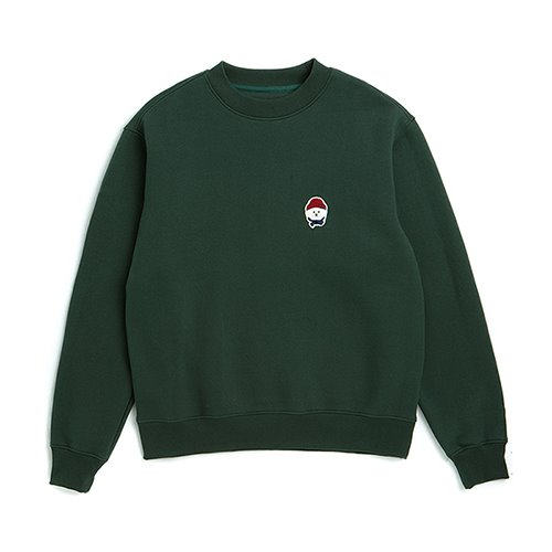 ILP W-SIGNATURE LOGO SWEAT-SHIRTS GREEN