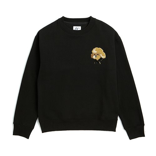 [기모]ILP HQ WAPPEN SWEAT-SHIRTS BLACK