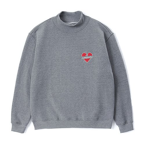 [CHRISTMAS EDITION]NOMANTIC HALF TURTLE-NECK T-SHIRTS GRAY