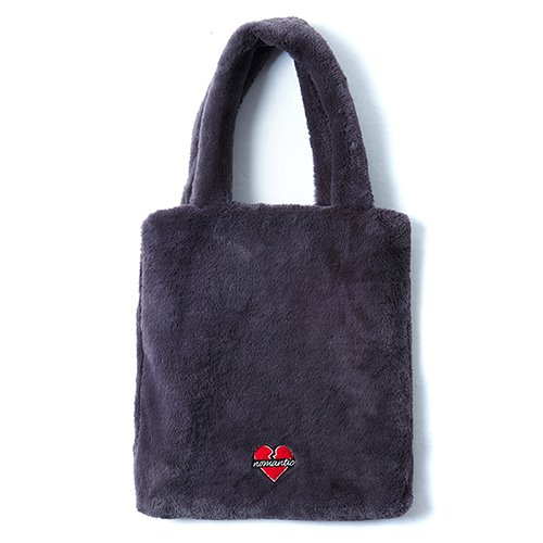 [CHRISTMAS EDITION]NOMANTIC ECO-FUR TOTE BAG GRAY