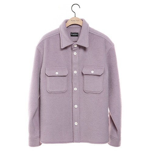 [COLLECTION LINE]ANGOLA HEAVY WEIGHT SHIRTS PURPLE