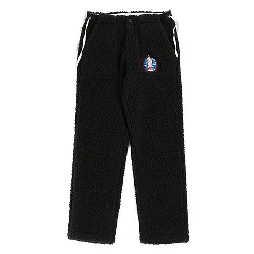 [RE-EDITION]APOLLO F-FUR STRING PANTS BLACK
