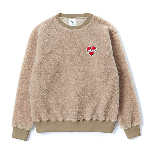 [CHRISTMAS EDITION]NOMANTIC F-FUR SWEAT-SHIRTS BEIGE
