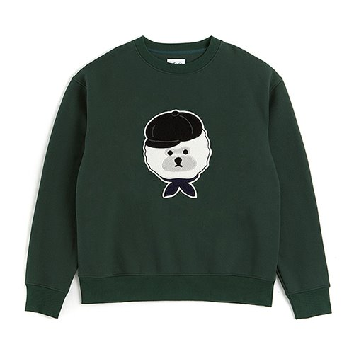 ILP BW-SIGNATURE LOGO SWEAT-SHIRTS GREEN