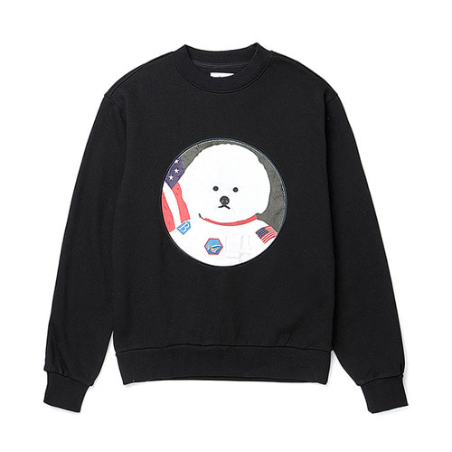 APOLLO DOG PATCH SWEAT-SHIRTS 2019VER BLACK